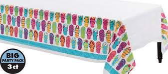 bright flip flop party supplies flip flop theme party party city
