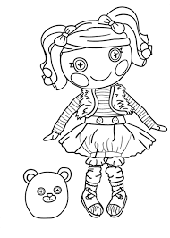 beautiful lalaloopsy coloring pages 55 on line drawings with