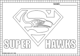nfl team coloring pages 66 best nfl logos seattle seahawks images on pinterest football