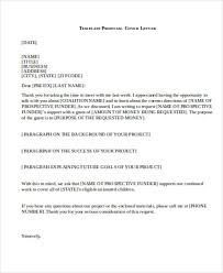 28 business proposal letter in word