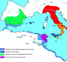 Babylonian Empire Map Carthaginian Empire The Phoenician City State Of Carthage