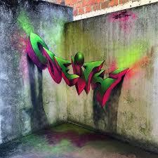 3d mural 3d mural on 90 degree corner of a wall art i like pinterest