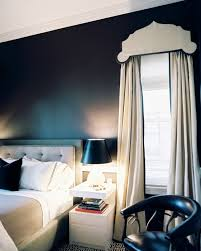 Dark Blue Bedroom by Dark Bedroom Walls Do Or Don U0027t Design Inspiration Lonny