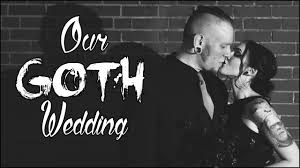 our goth wedding all about our halloween wedding youtube