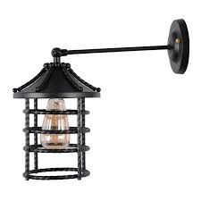 Edison Wall Sconce Black Dock Industrial Vintage Wall Lamp Edison Wall Sconce