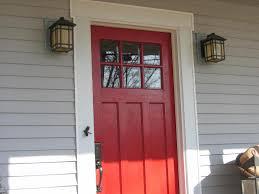 red front door 18 gray house red front door carehouse info