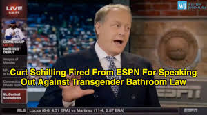 curt schilling fired from espn for speaking out against