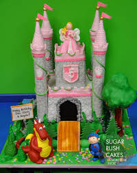 castle cake princess knight and dragon sugar rush cakes montreal
