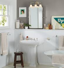 Bathroom Chair Rail Ideas Outstanding Designs With Double Sconce Bathroom Lighting