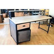 bureau loft industriel table deco industrielle charming table salle a manger loft 2 deco