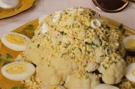 cuisiner le chou fleur chou fleur à la polonaise