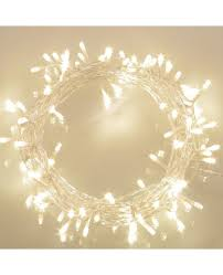 Outdoor Battery String Lights 100 Led Battery Operated String Lights With Timer On 11m Outdoor