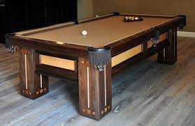 Elliptical Pool Table Building A Custom Pool Table Finewoodworking