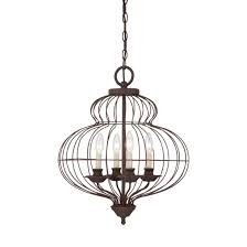 fresh unique french cage chandelier 9808