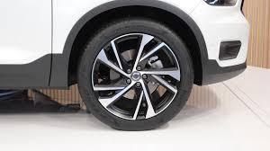 2018 volvo xc40 white wheel indian autos blog
