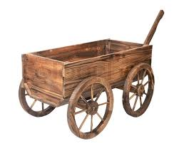 vintage wooden cart isolated on white stock photo colourbox