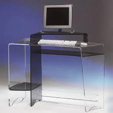 bureau plexi bureau plexiglas meuble de bureau d angle lepolyglotte