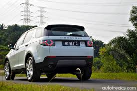 land rover discovery sport trunk space test drive review land rover discovery sport lowyat net cars