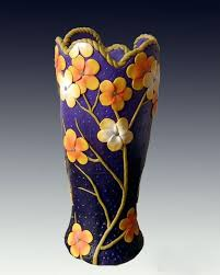 polymer clay home decor polymer clay vase for decoration