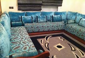 tissu canapé marocain salon marocain en velours mobra moderne 2016 salon deco marocain