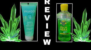 Wardah Gel aloe vera gel banana boat wardah review