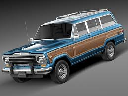jeep grand wagoneer concept custom half doors for a jeep grand wagoneer for the summer months