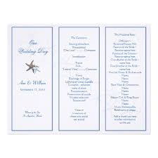 folded wedding program template 22 best wedding programs images on receptions wedding