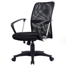 high back office chair with lumbar support ergo mesh mesh seat