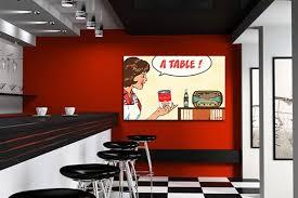 tableau deco pour cuisine un tableau vintage pour noël toile design et moderne d izoa