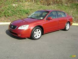 red nissan altima 2003 sonoma sunset red nissan altima 2 5 s 22557042 gtcarlot