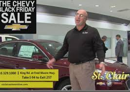 chevy black friday sale st clair chevy buick gmc black friday latreille advertising