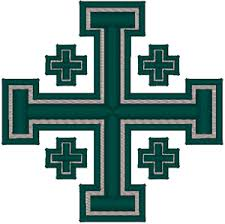 cross 2 embroidery design