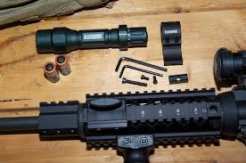 ar 15 light mount mounting a tactical light on your ar 15 my gun culture