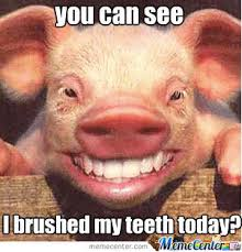 Teeth Meme - can you see i cleaned my teeth today by sinez meme center