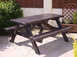 recycled plastic picnic tables ribble picnic table recycled plastic trade