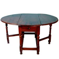 Wooden Drop Leaf Table Rare English Yew Wood Drop Leaf Table At 1stdibs