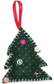 tree ornament felt christmas tree group crafts craftbits com