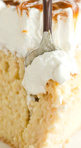 caramel tres leches cake recipe tops cakes and cream