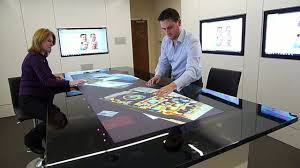 Interactive Meeting Table Multitouch Meeting Room On Vimeo