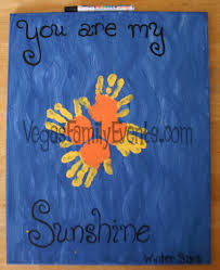mothers day gifts from kids sunshine handprints vegas family guide