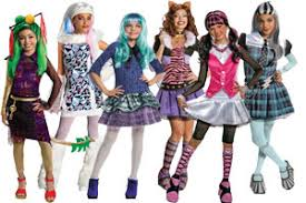Monster Halloween Costumes Girls Group Costume Ideas Halloween 2017