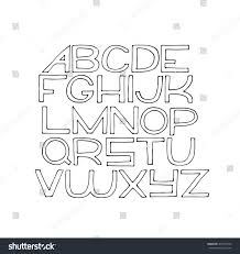 abc writing paper simple hand drawn alphabet letters z stock vector 472510534 simple hand drawn alphabet letters from a to z drawn with ink on white paper