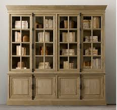 bookcase antique white canada with glass doors contemporary wood