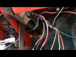 how to install a wiring harness in a 1967 to 1972 chevy truck part
