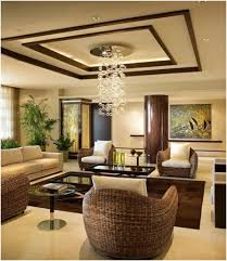 get classy look inside your living room by having italian curved