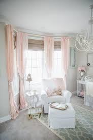 Pink Curtains For Nursery Pink Grey Nursery Project Nursery Pertaining To Light
