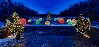 Smith Botanical Garden by Chicago Botanic Garden Holiday Lights From Www Outofchicag U2026 Flickr