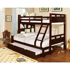 Over The Bed Bookshelf Fairfield Twin Over Full Bunk Bed With Bookshelf Free Shipping