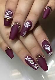 the 25 best christmas acrylic nails ideas on pinterest pretty