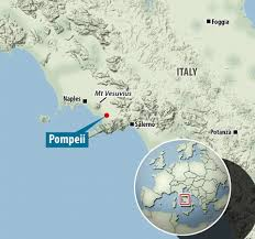 Pompeii Map Ct Scans Of Pompeii Victims Reveal Bodies In Unprecedented Detail